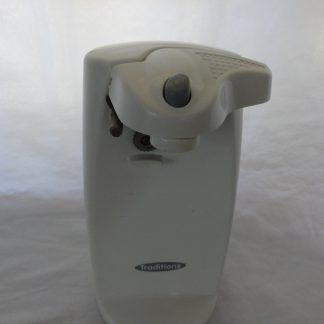 White Can Opener electric